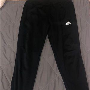 All Black Adidas Joggers